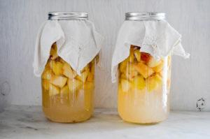 domači jabolčni kis recept