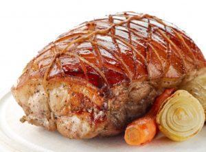 mrežna svinjska pečenka