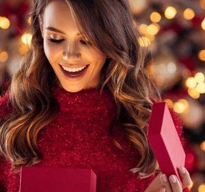 božično darilo paket za zrelo kožo